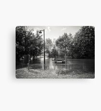 Floating Park Canvas Print