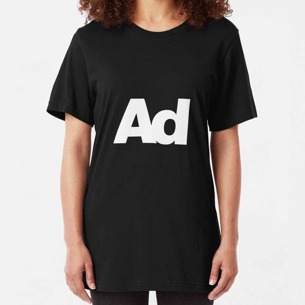 ad Slim Fit T-Shirt