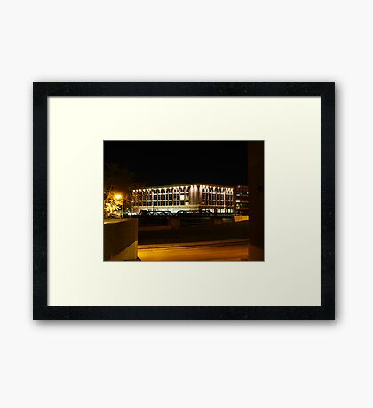 CNA-Western Surety Building in Sioux Falls Framed Print