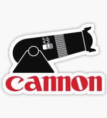 Cannon Sticker