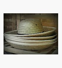 Hats Off to the Amish Photographic Print