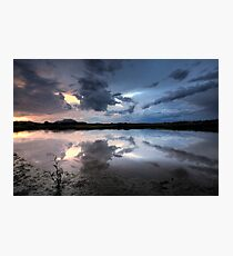 Storm Cloud Blues Photographic Print