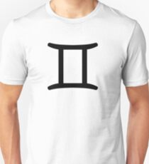 Gemini - The Twins - Astrology Sign Unisex T-Shirt