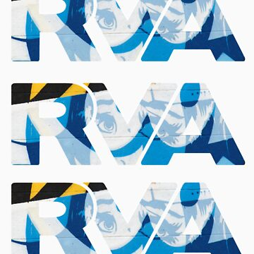 "RVA - flood wall ""PoP Art stickers"" by CUNRVA"