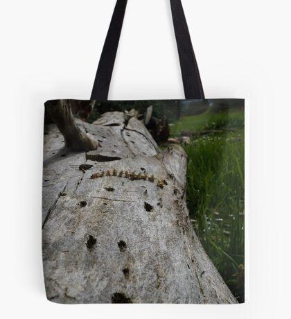 Used Log Tote Bag