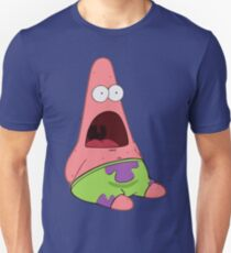 Surprised Patrick Unisex T-Shirt