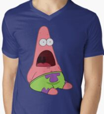 Surprised Patrick Men's V-Neck T-Shirt