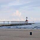 Michigan City East Pier Light by Jack Ryan