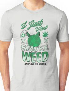SMOKE WEED Unisex T-Shirt