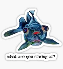 What Are You Staring At? Sticker