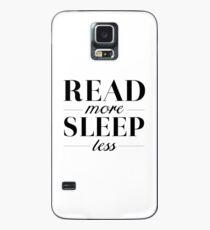 Read/Sleep Case/Skin for Samsung Galaxy