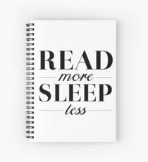 Read/Sleep Spiral Notebook