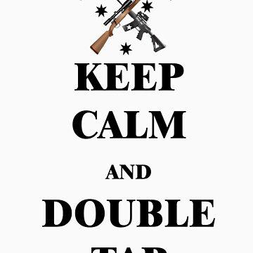 Keep Calm & Double Tap! by NemesisGear
