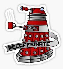 Recaffeinate Sticker