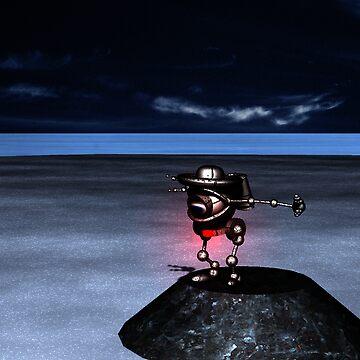 Ichy Knee Robot 2009 by robertemerald