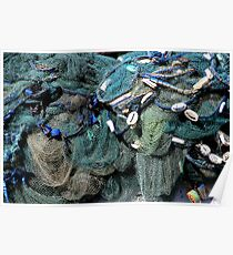 fishing net Poster
