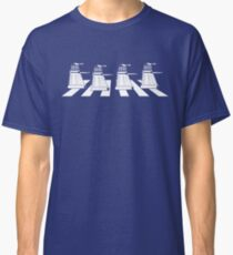 EXTERMINATE ROAD Daleks on Abbey Road Dr Who The Beatles ! - T Shirts , Hoodies , Mugs , Scarves & Much More Classic T-Shirt