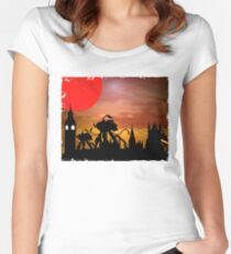 The War Of The Worlds Women's Fitted Scoop T-Shirt