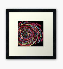 spaghettis spiral Framed Print