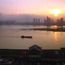 Sunset in Nanchang, Jiangxi by Laura Puglia