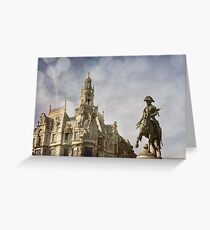 Liberty Square Texturized Greeting Card