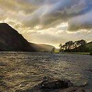 Llyn Cwellyn sunset  by timmburgess