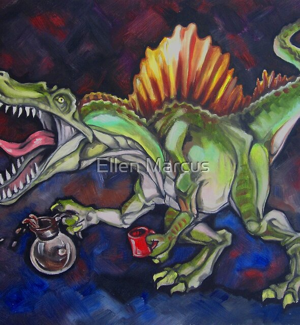 Caffeinosaurus by Ellen Marcus
