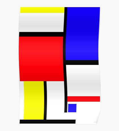 Method in the Mondrian Poster