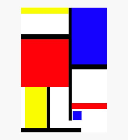 Method in the Mondrian Photographic Print