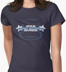 Star Burns Women's Fitted T-Shirt