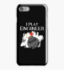 I Play Engineer iPhone Case/Skin