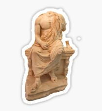 The Statue of The Unidentified Philosopher Sticker
