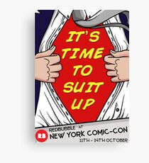 REDBUBBLE NYCC POSTER Canvas Print