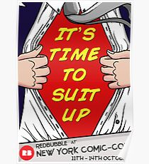 REDBUBBLE NYCC POSTER Poster
