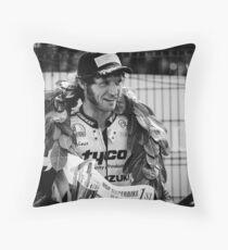 Guy Martin Throw Pillow