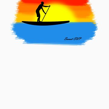Sunset SUP by endorphin