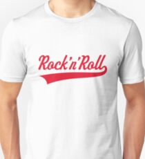 Rock 'n' Roll (Red) Slim Fit T-Shirt