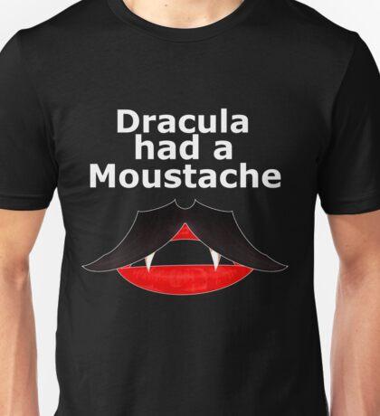 dracula had moustache T-Shirt