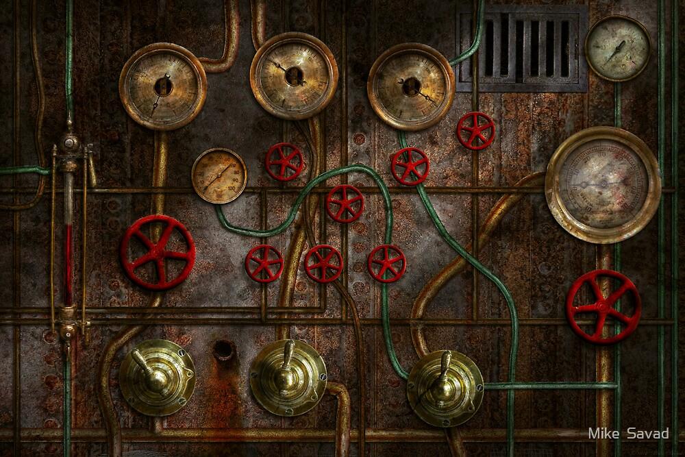 Steampunk - Job jitters by Michael Savad