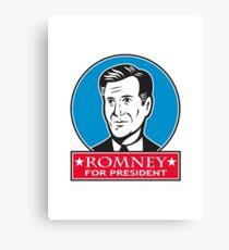 Mitt Romney For American President Canvas Print