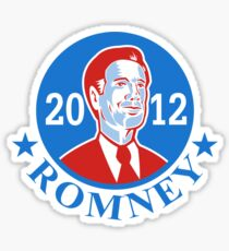 Mitt Romney For American President 2012 Sticker