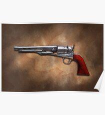 Gun - Model 1860 Colt Army Revolver Poster