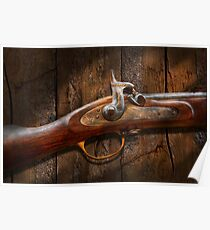 Gun - Musket - London Armory  Poster