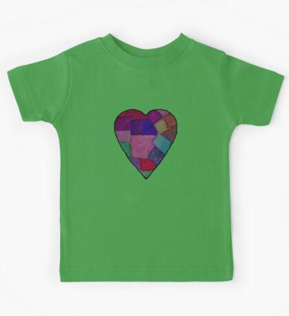 patchwork heart   Kids Clothes
