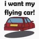 i want my flying car! by IanByfordArt