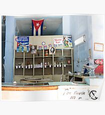 A shop. Poster