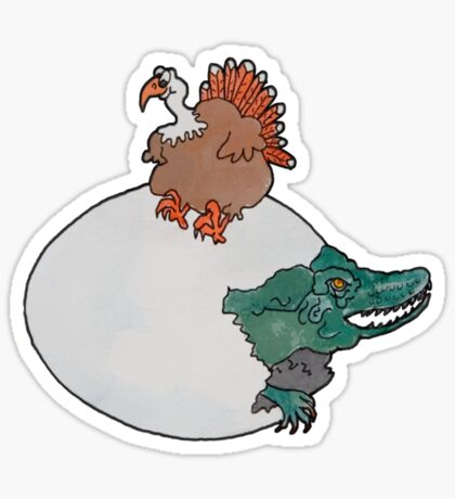 Turkey or the Egg Sticker