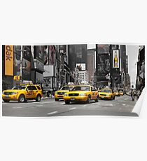 NYC: Yellow Cabs (ck) Poster