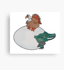 Turkey or the Egg Canvas Print
