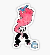 Panda Poison Sticker